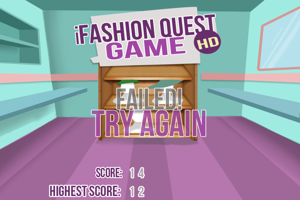 Screenshot iFashion Quest Game HD Lite